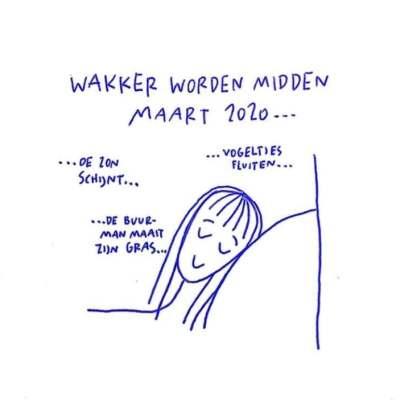Cartoon door Floor Denil